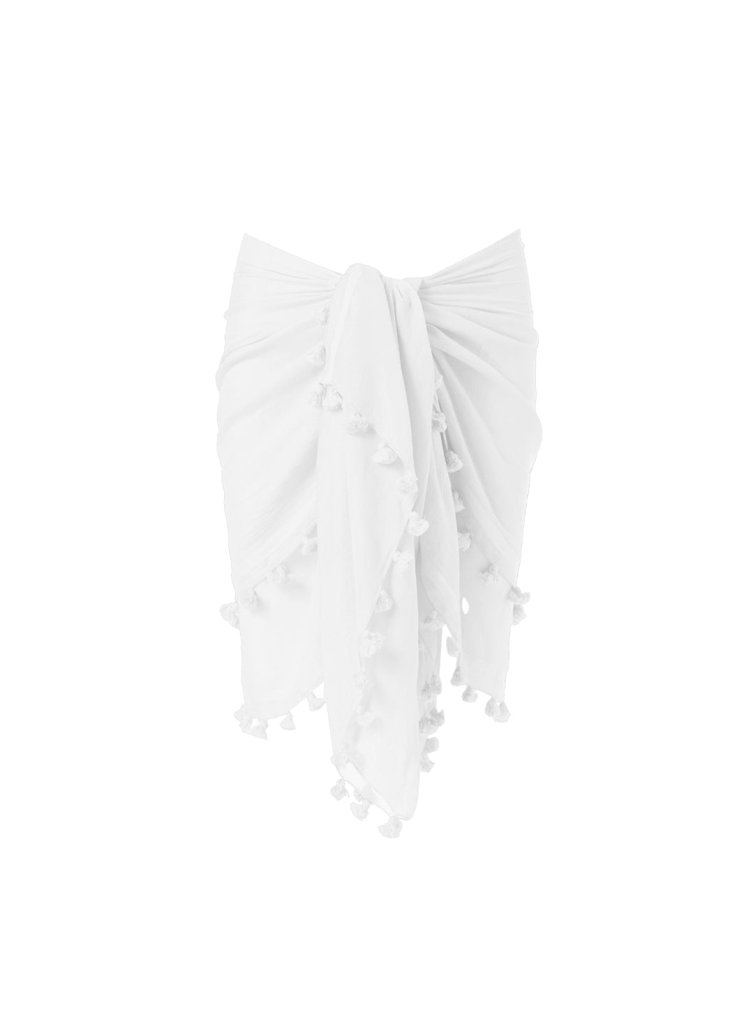 Pareo White Multi-Way Cover Up - Melissa Odabash Accessories
