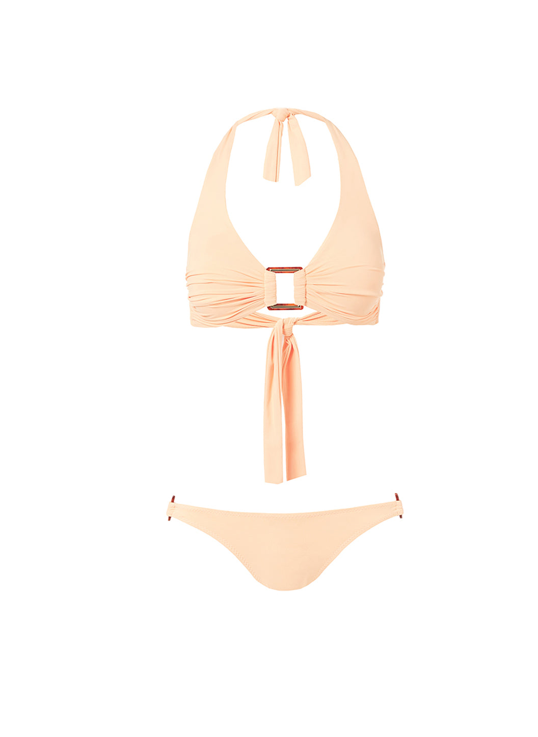 Paris Mango Halterneck Rectangle Trim Bikini - Melissa Odabash Halterneck Bikinis
