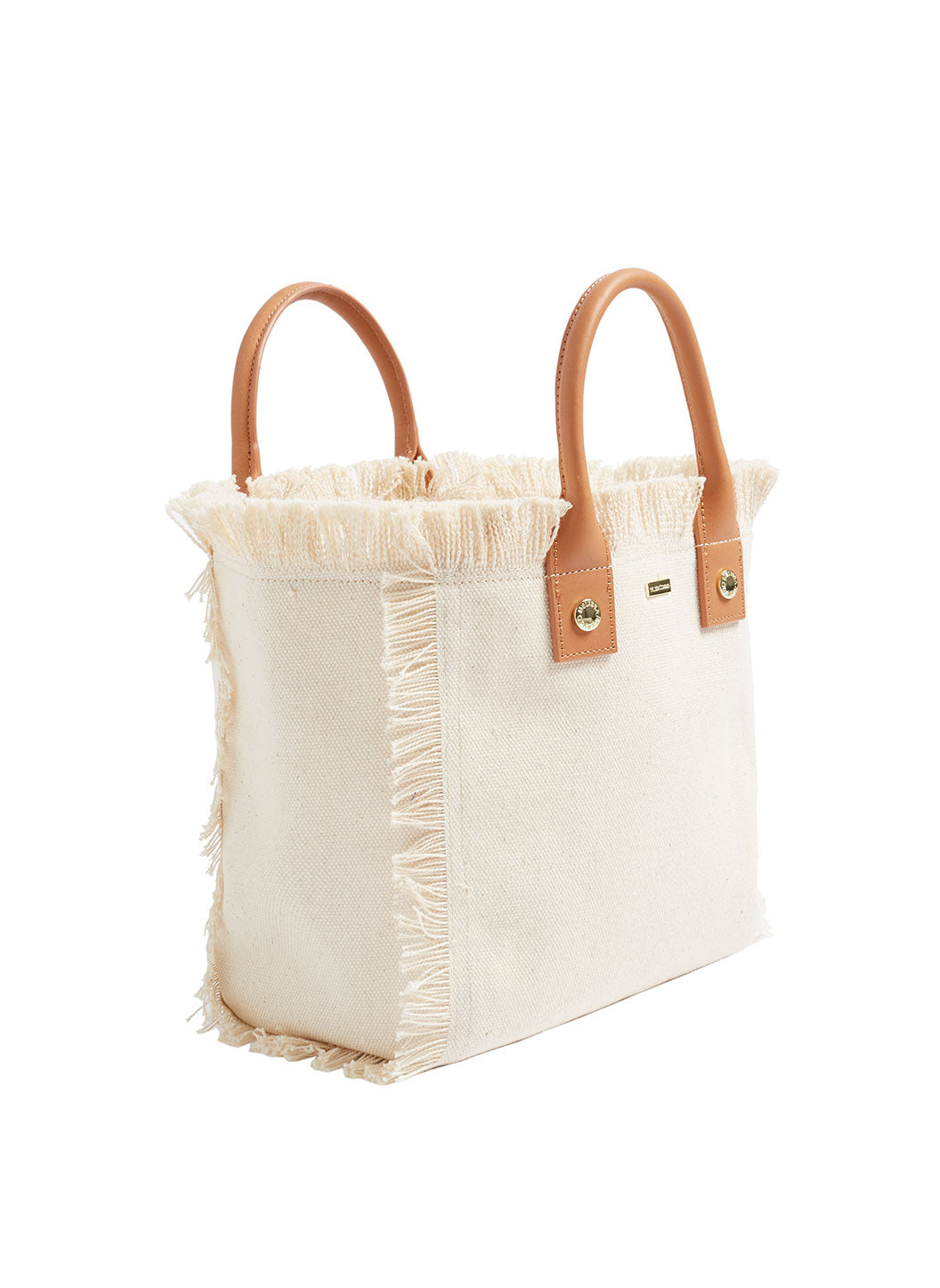 Porto Cervo Mini Beach Tote Beige - Melissa Odabash Accessories
