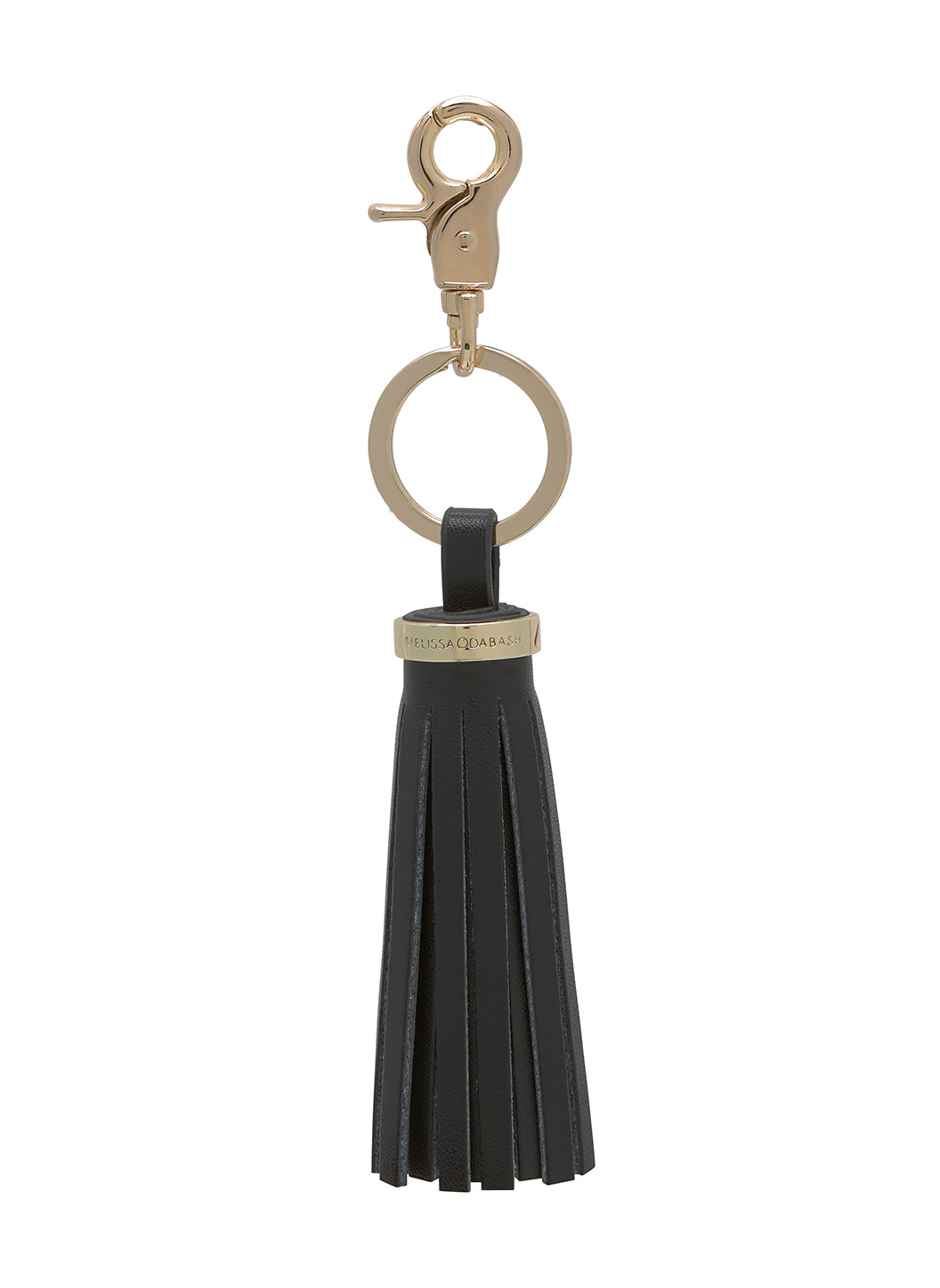Keyrings Black Tassle - Melissa Odabash Accessories