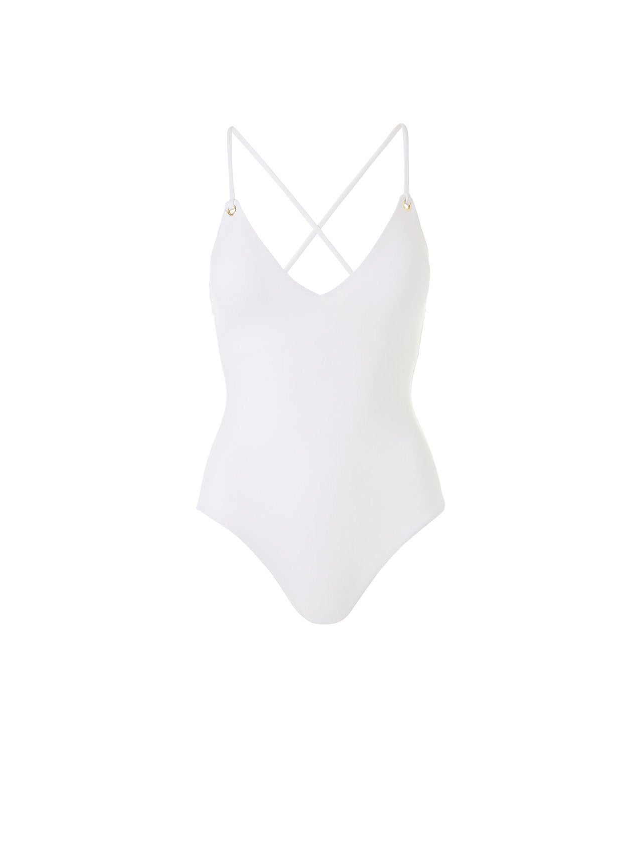 Catalina White Swimsuit