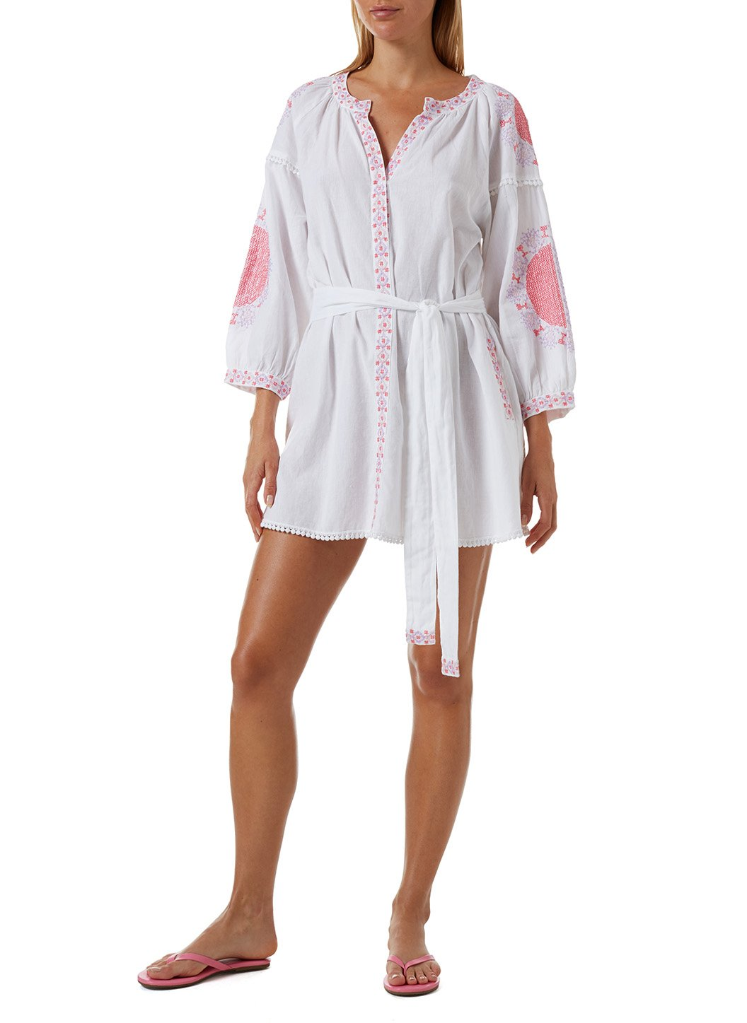 Cathy White Kaftan