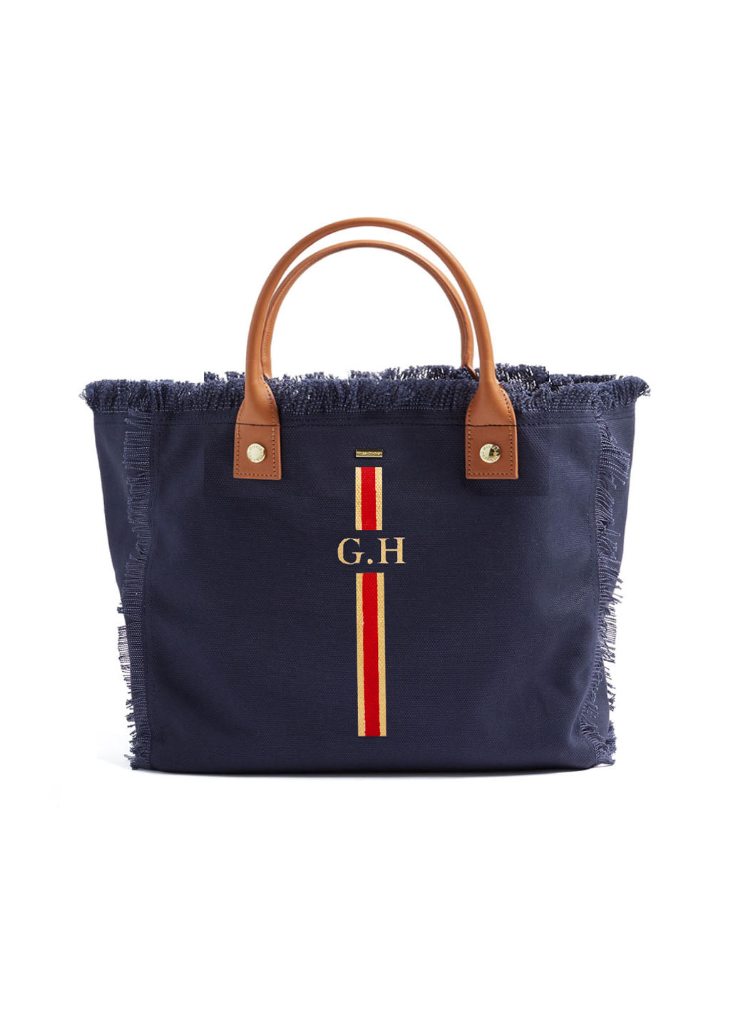 Porto Cervo Navy Red