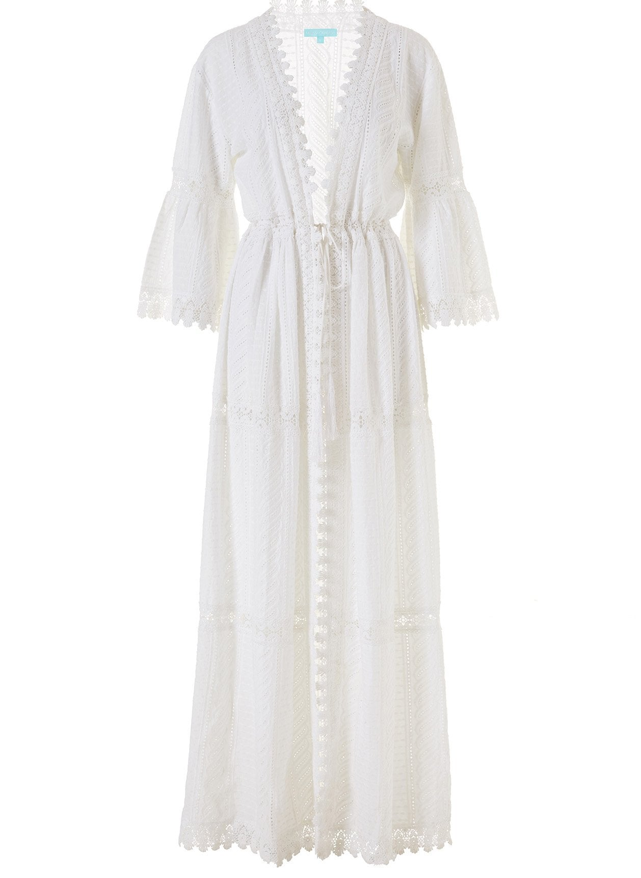Robbi White Long Kaftan