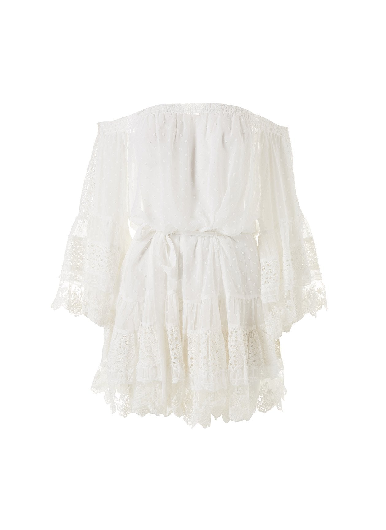Alice White Lace Off The Shoulder Dress 2020
