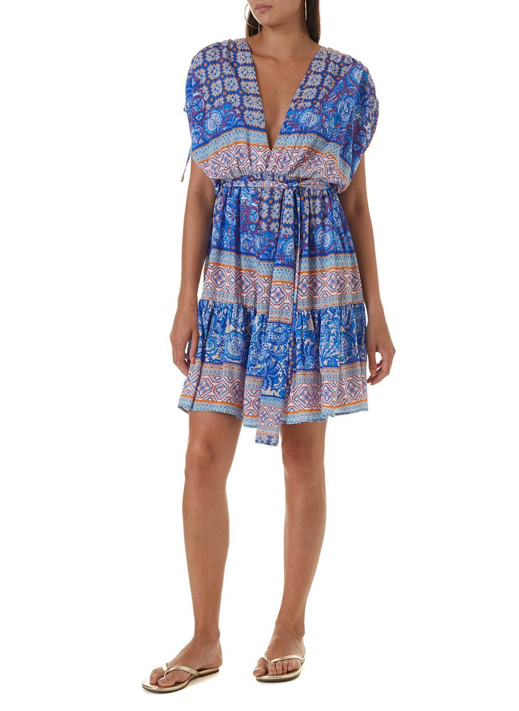 alma bohemian short dress