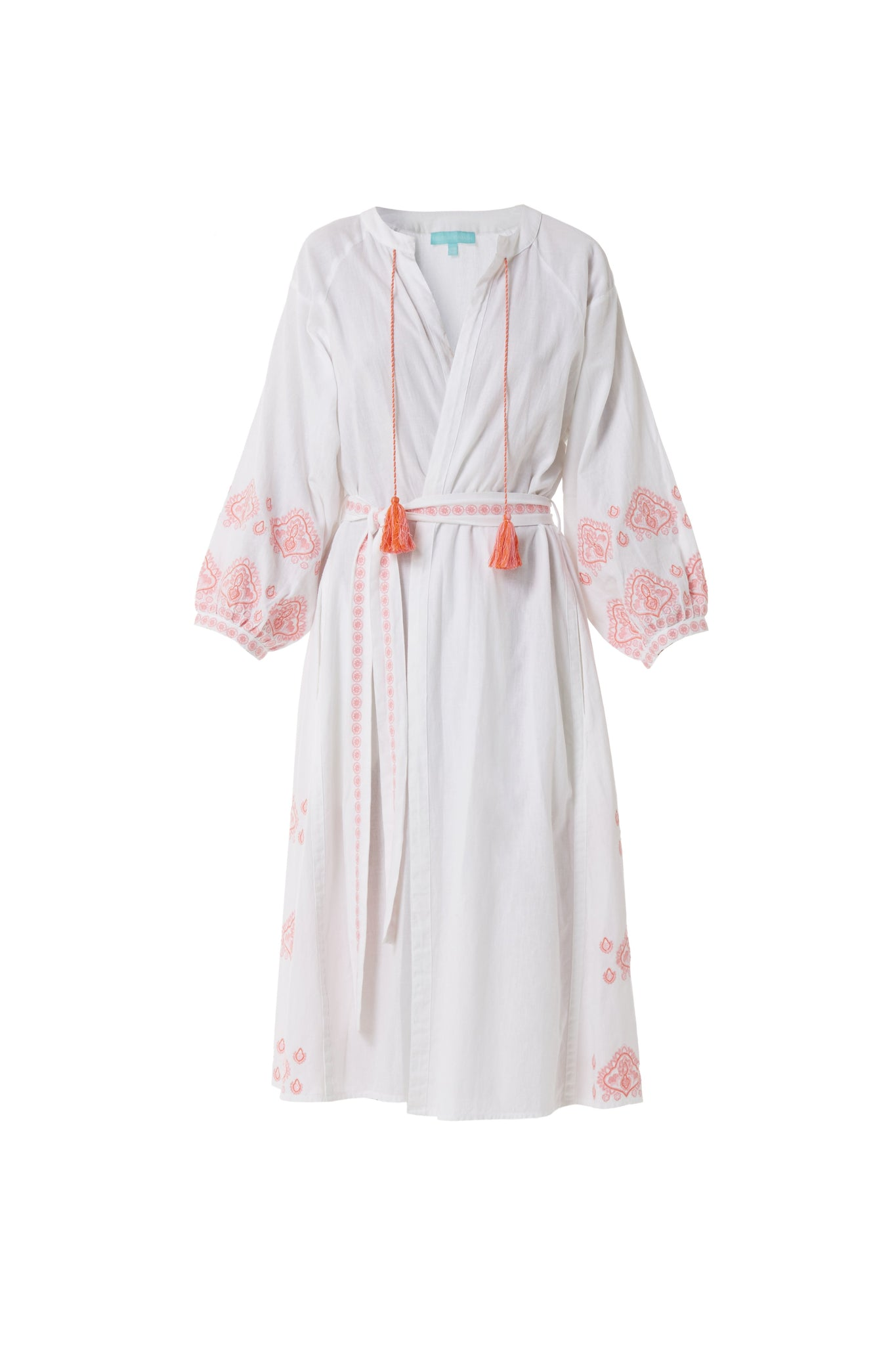 audrey white/ rose kaftan