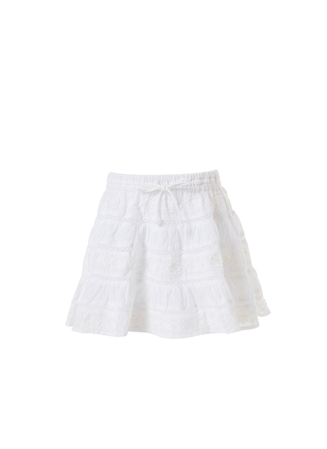 baby anita white skirt 2019