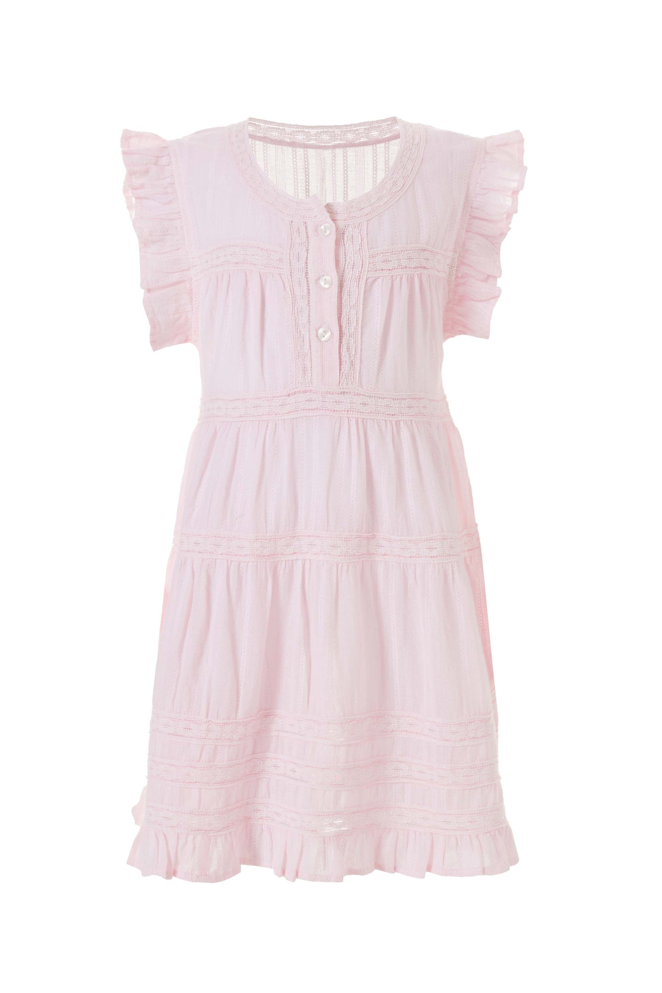 Baby Rebekah Blush Smock Dress