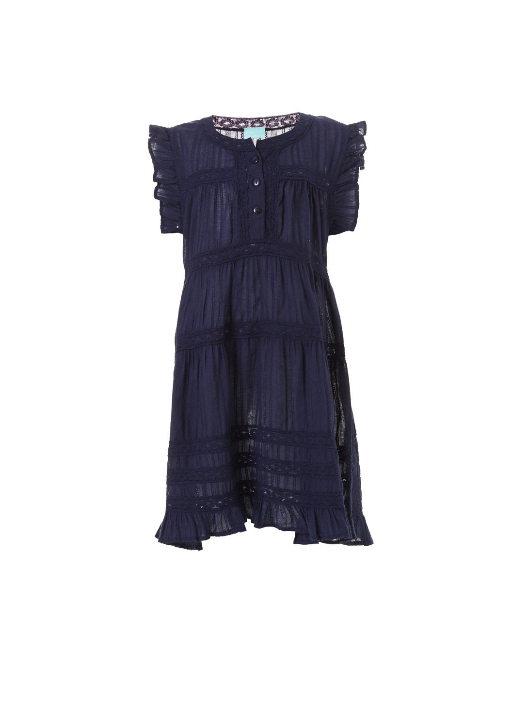 baby rebekah navy smock dress 2019