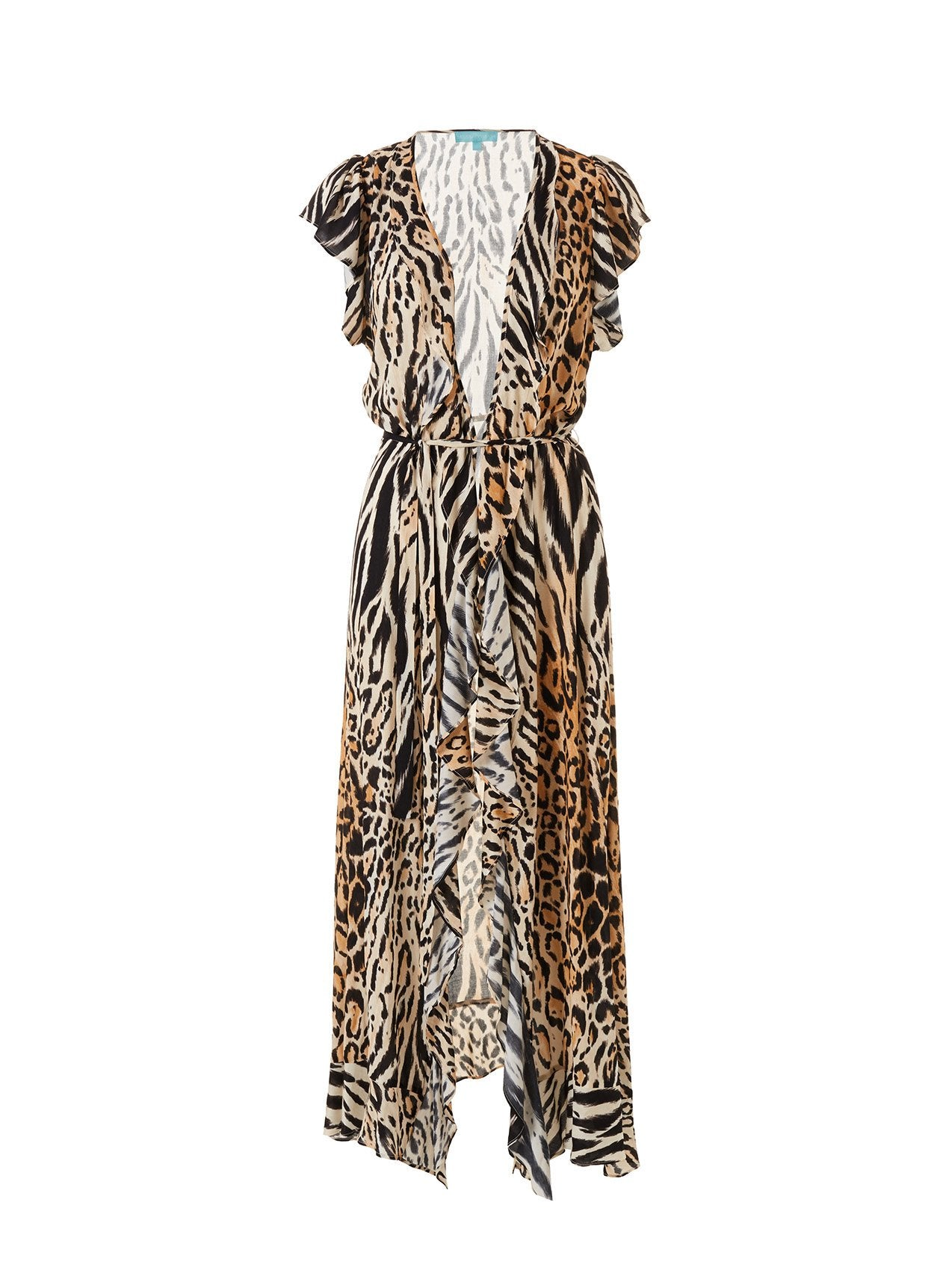 Brianna Cheetah Long Dress