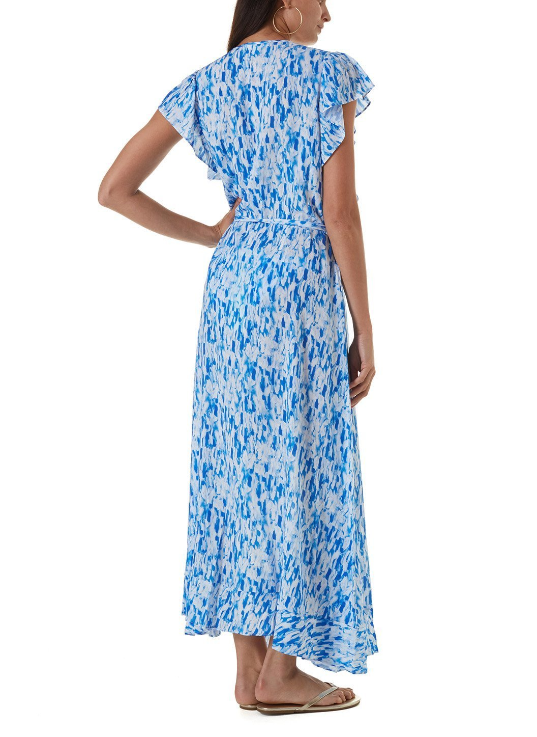 brianna waterfall long dress