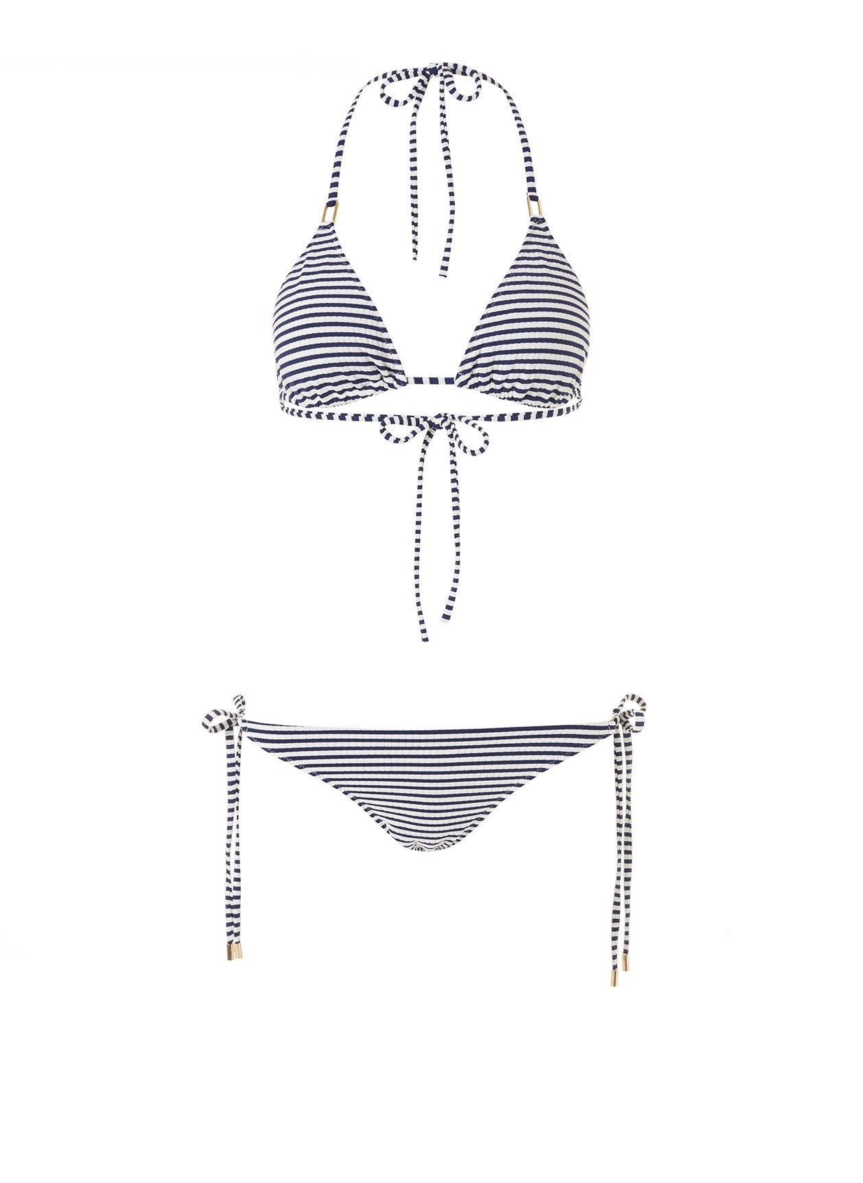 Cancun Nautical Navy Classic Triangle Bikini 2020