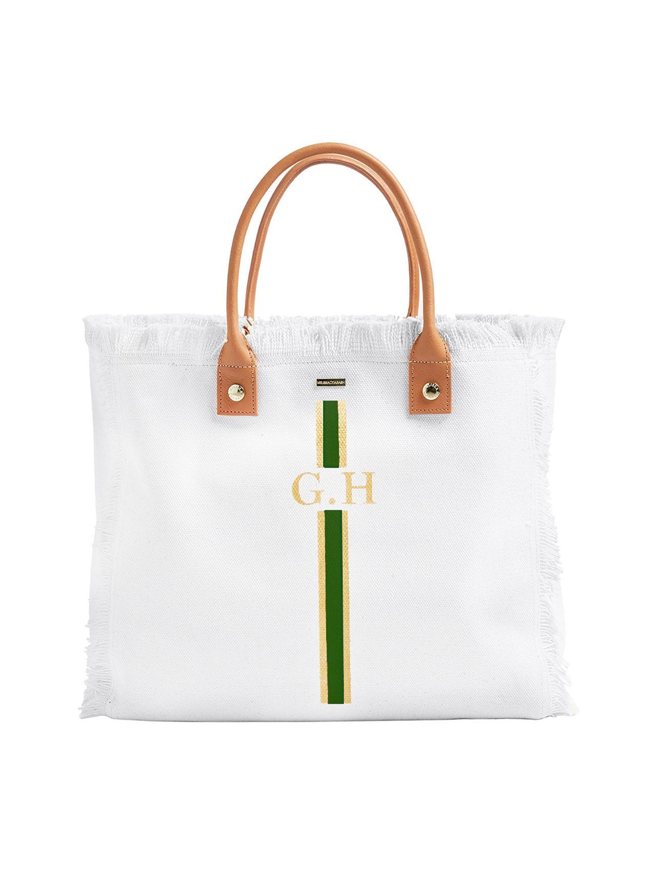Cap Ferrat White Gold/Green