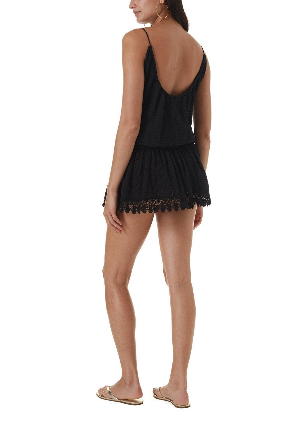 chelsea black short dress