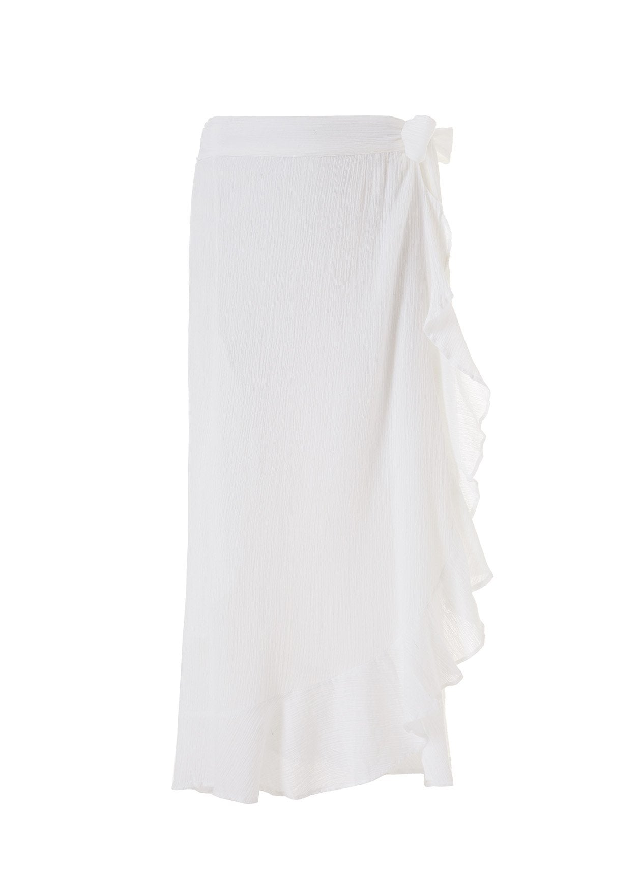 Danni White Long Skirt