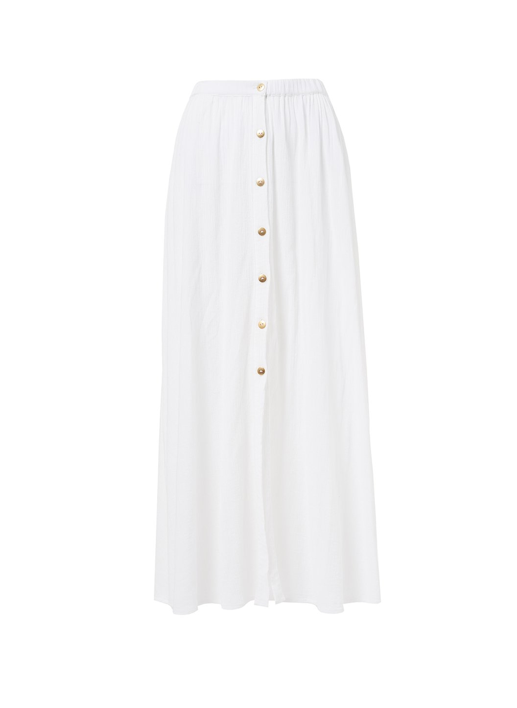 dru white button down maxi skirt 2019