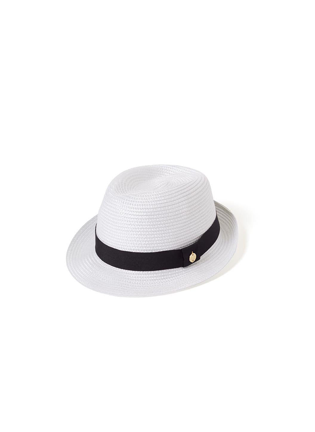 eva hat white black