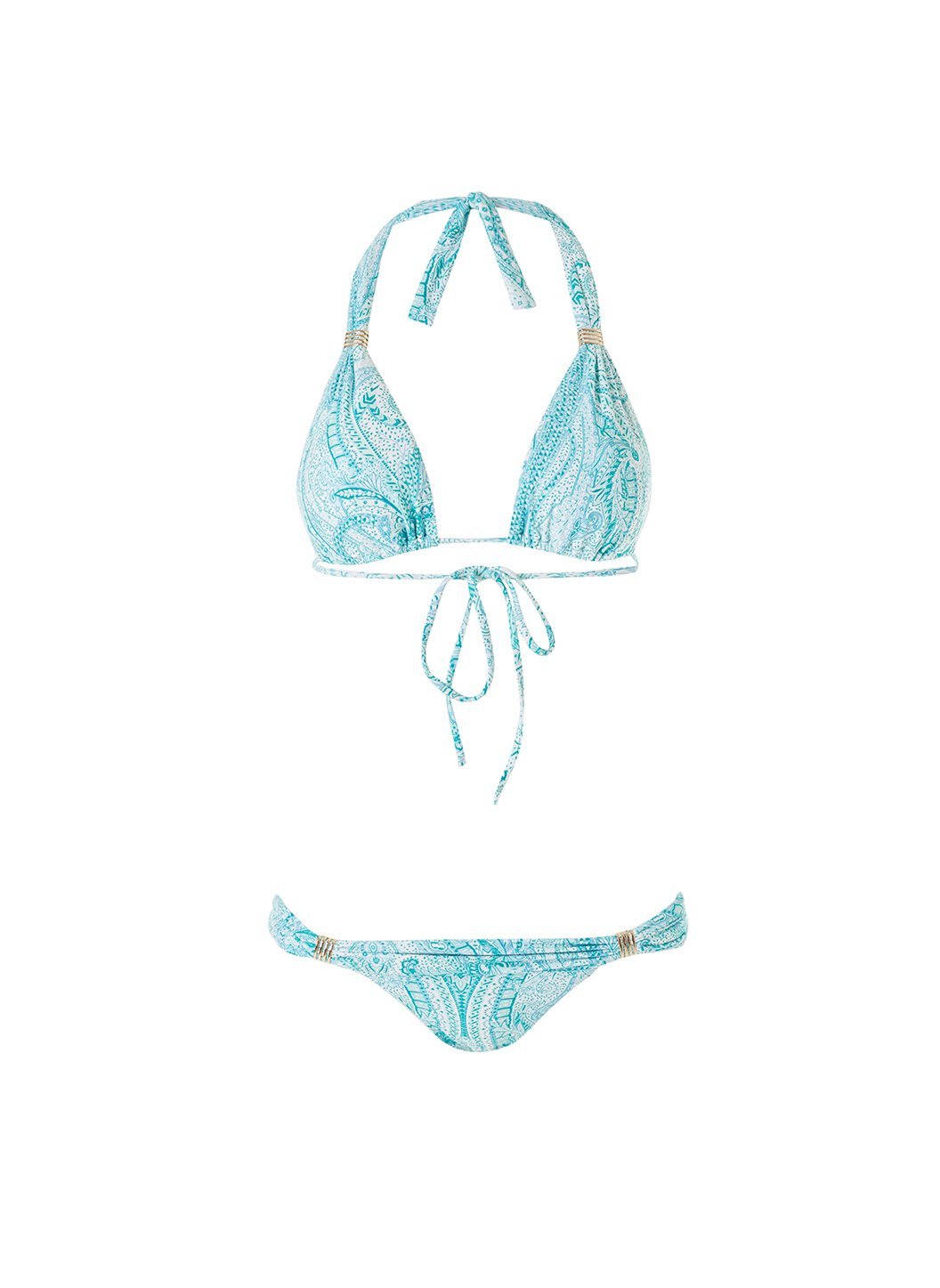 exclusive grenada paisley adjustable halterneck bikini 2019
