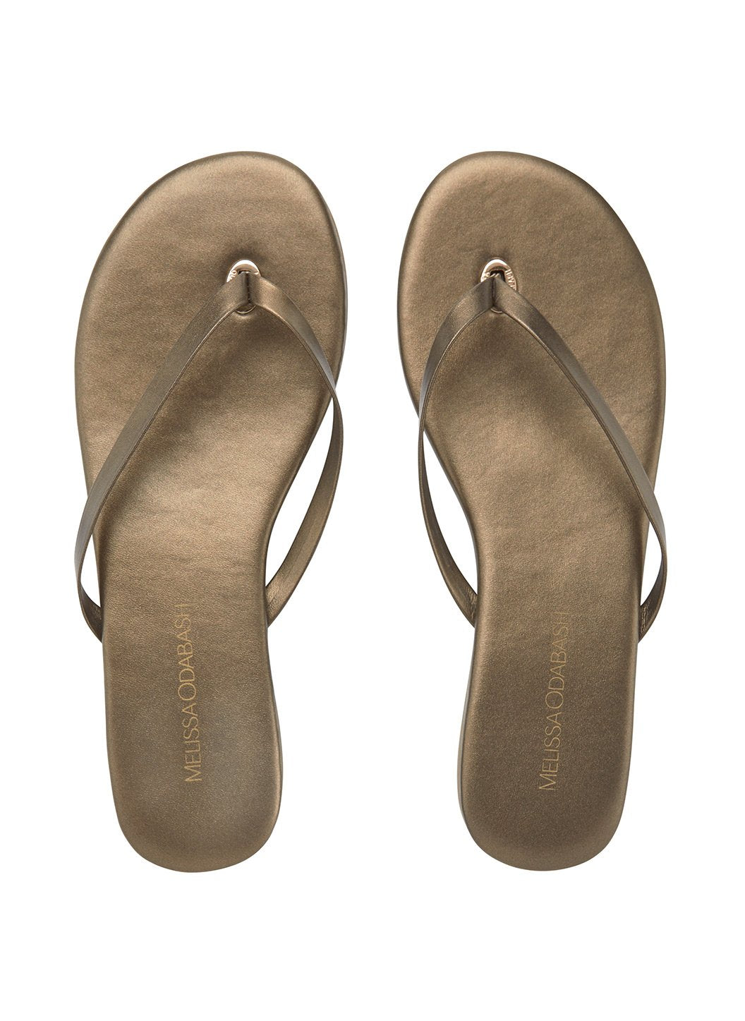 flip flop leather bronze 2019
