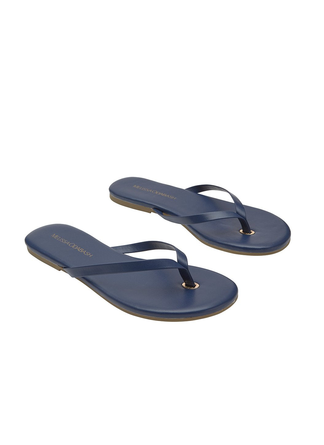 flip flop leather navy 2019 2