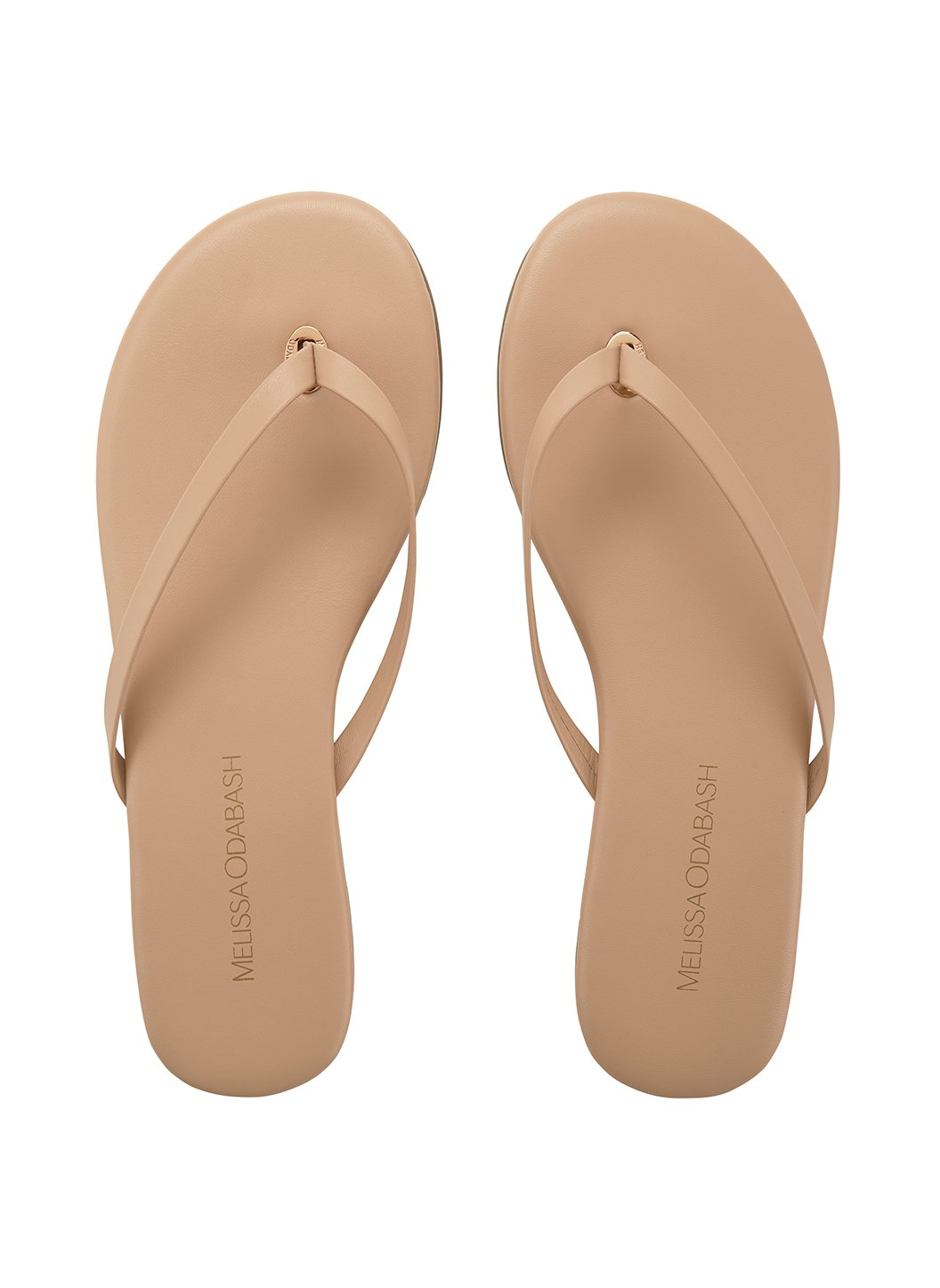 flip flop leather nude 2019
