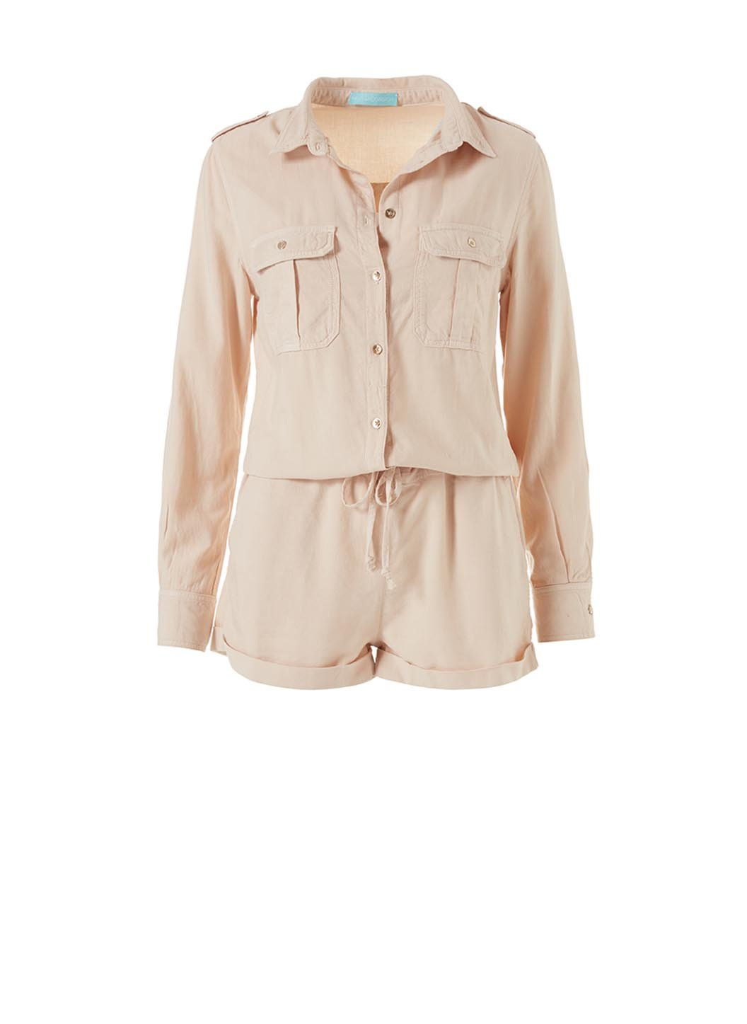 Tan Honour Playsuit