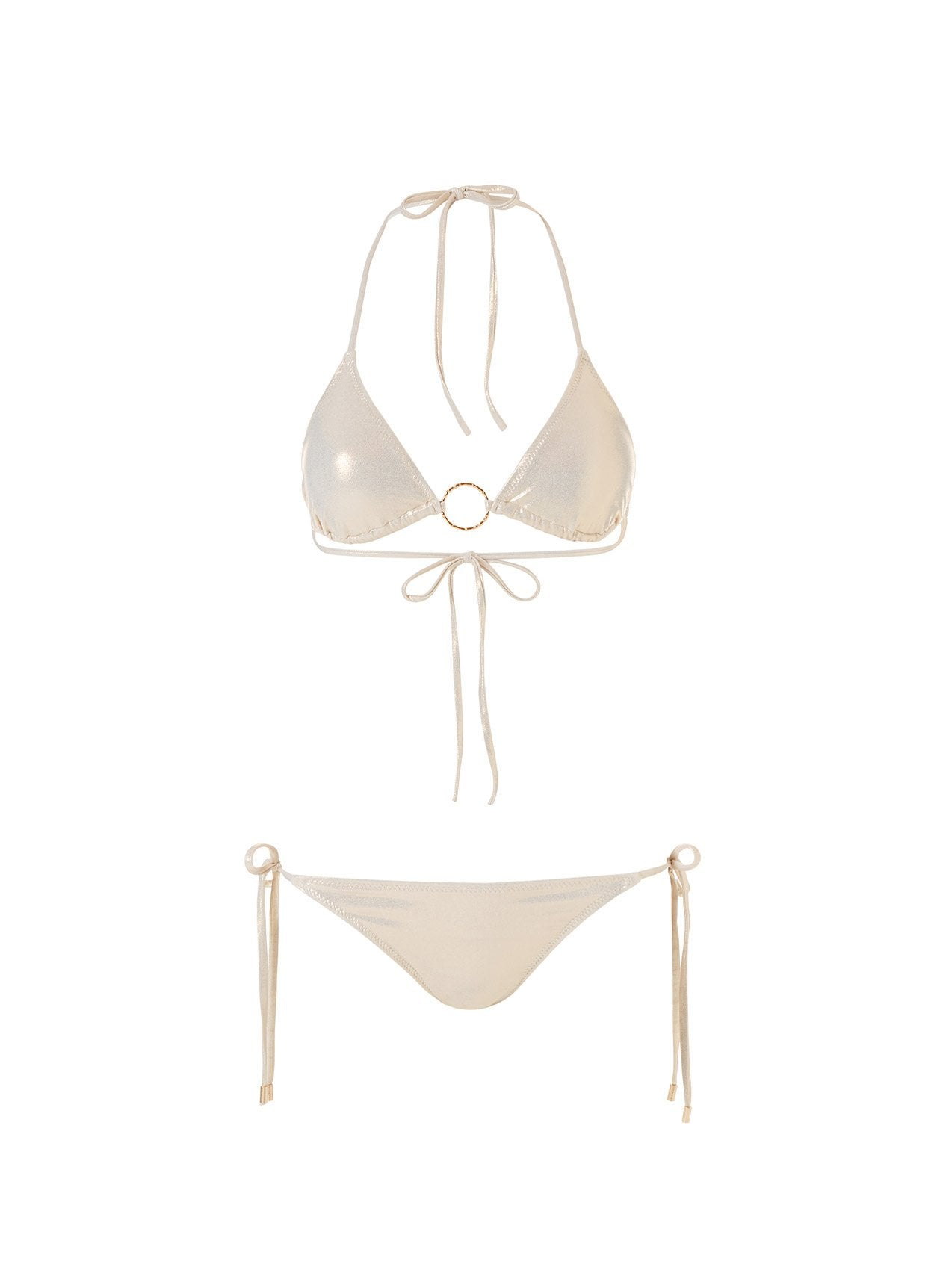 Miami Gold Classic Ring Trim Triangle Bikini 2020