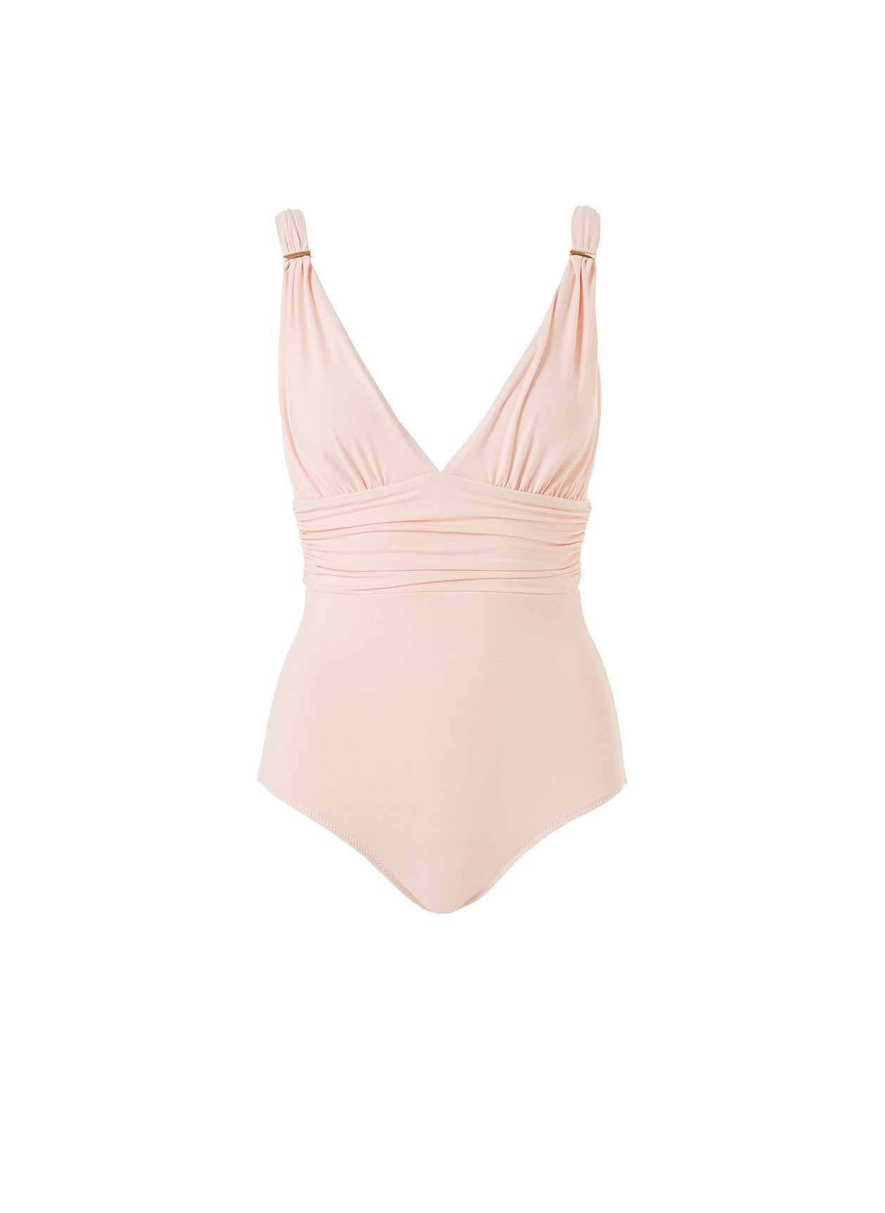 Panarea Blush Rouched Over The Shoulder One Piece 2020