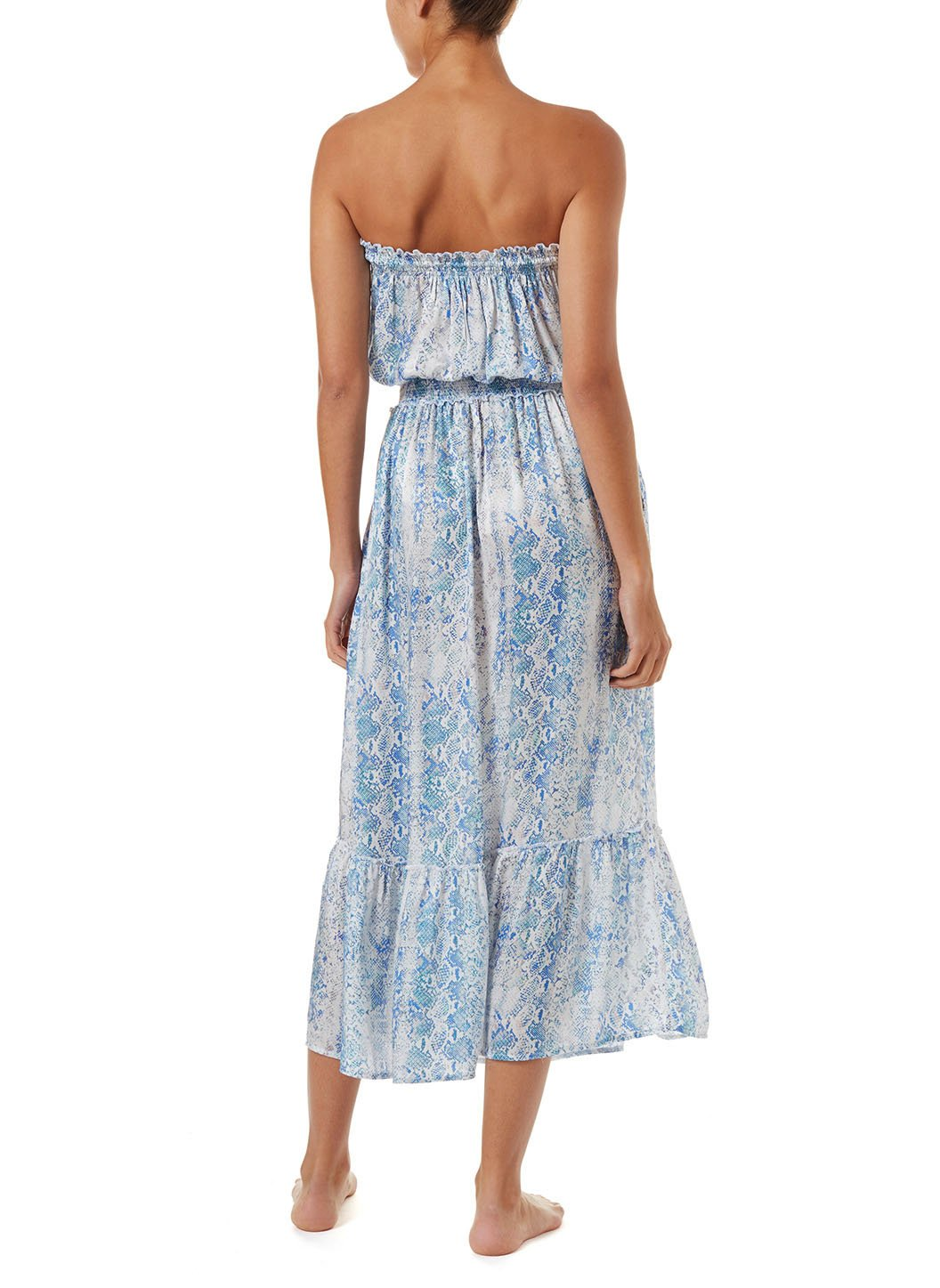 rachel serpente bandeau silk maxi dress 2019 B
