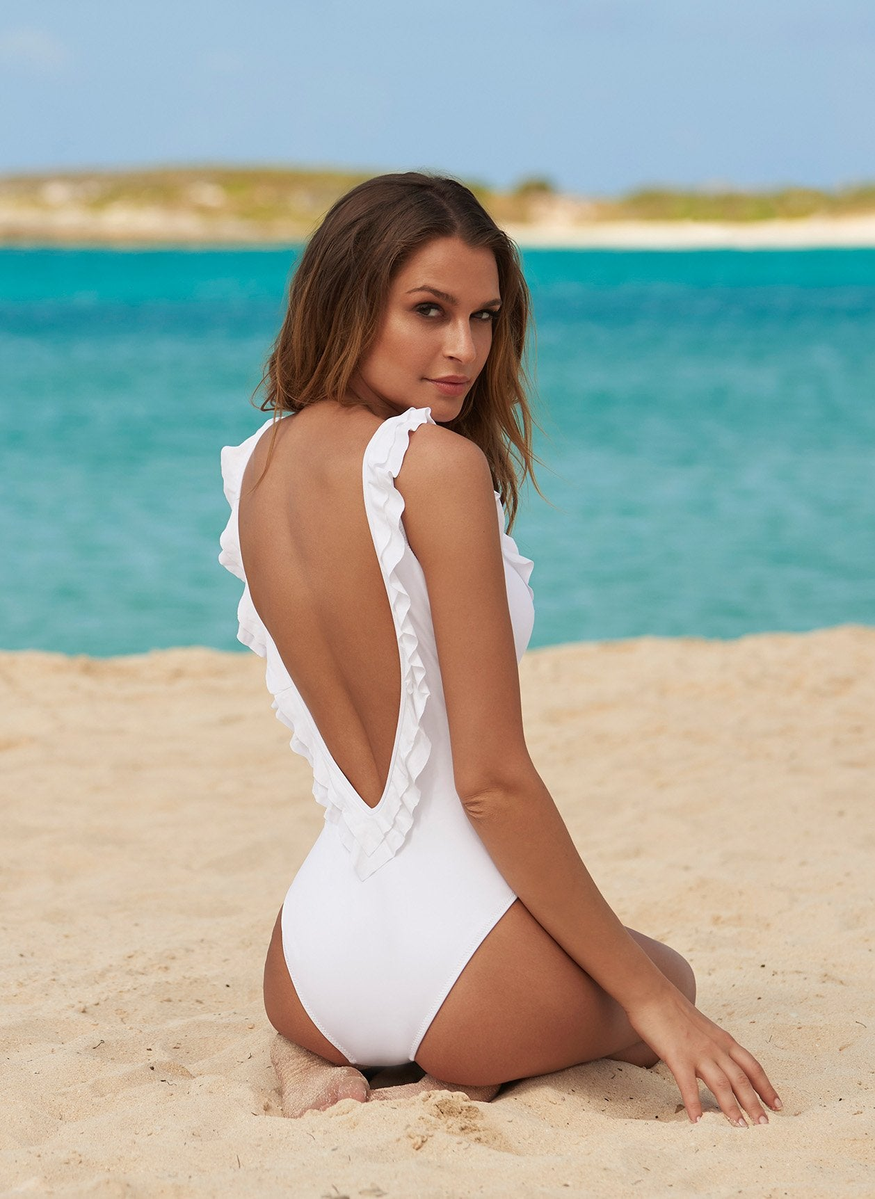 Seville White Swimsuit