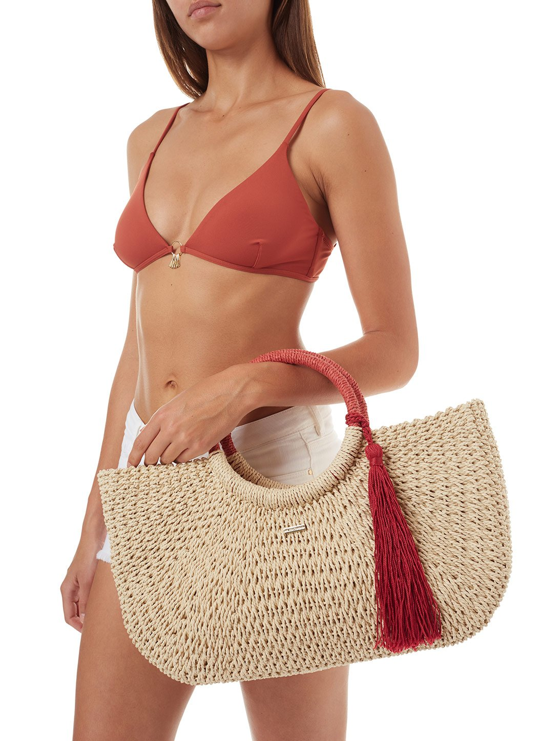 sorrento woven basket tassle bag natural cinnamon 2019 5