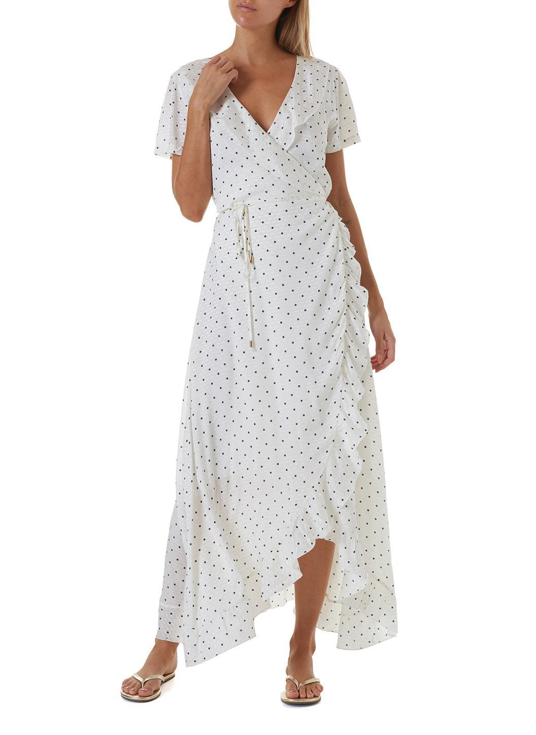 tilly polkadot long dress