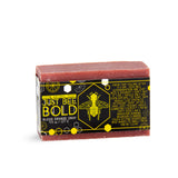 Just Bee Bold Blood Orange Gray  - 100% Natural Organic Bar Soap