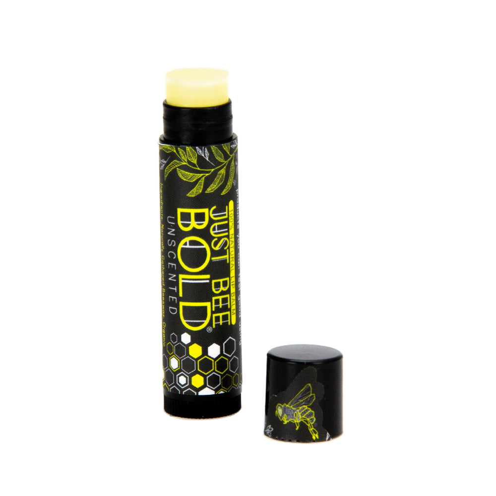 Just Bee Bold Unscented - 100% Natural Lip Balm