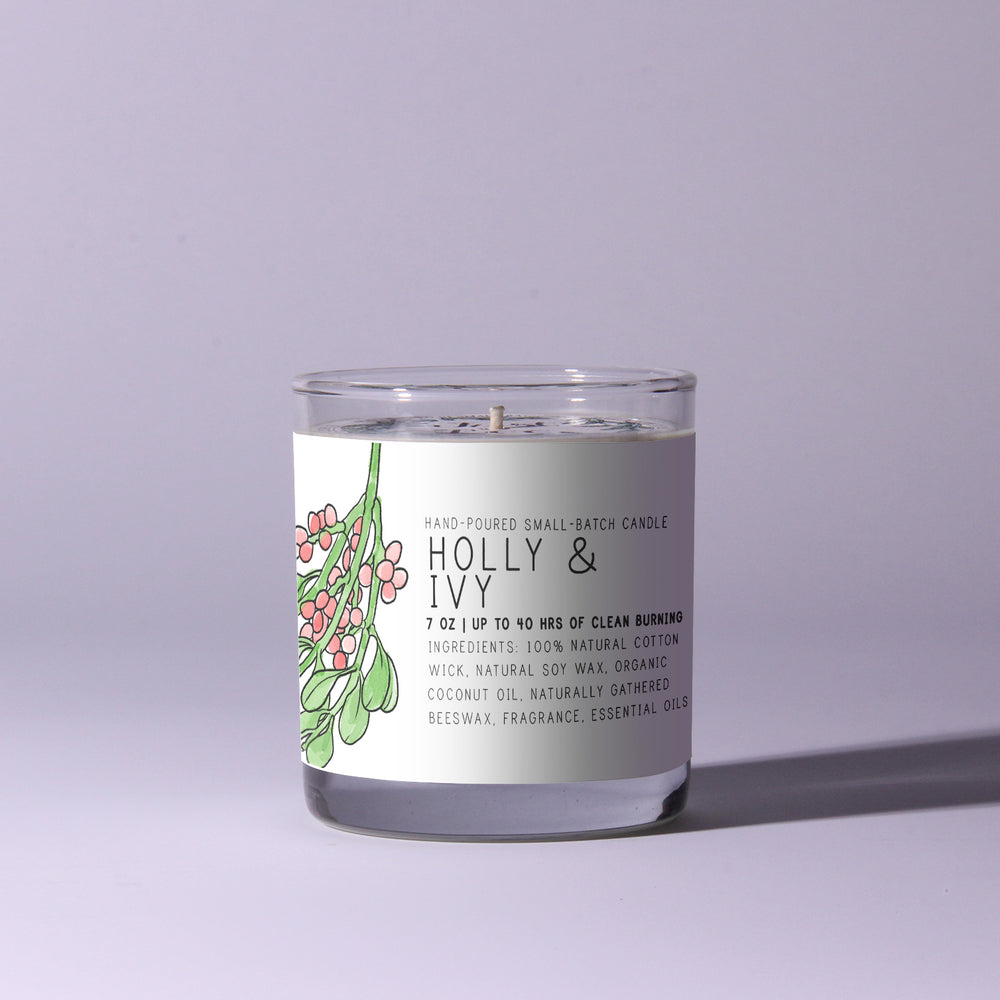 Holly & Ivy - Just Bee Candles
