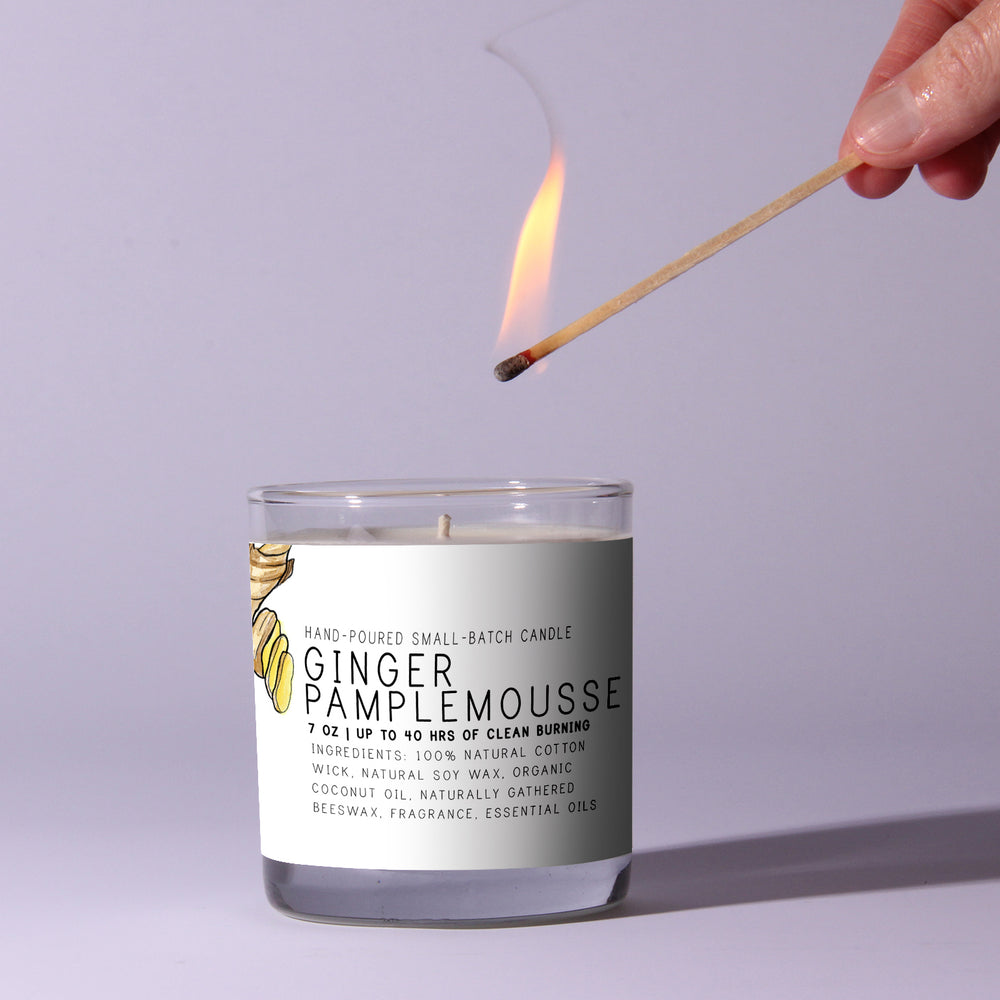Ginger Pamplemousse - Just Bee Candles