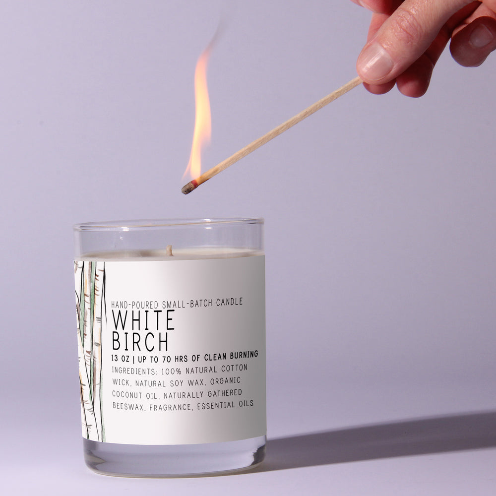White Birch - Just Bee Candles