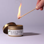 Black Tea Vetiver - Just Bee Candles