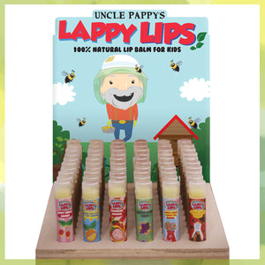 Lappy Lips - Small Assortment with Display