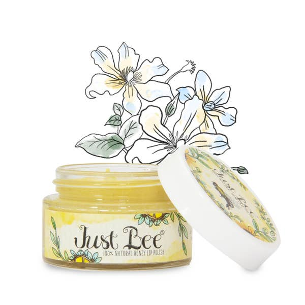 100% Natural Granulated Honey Lip Polish
