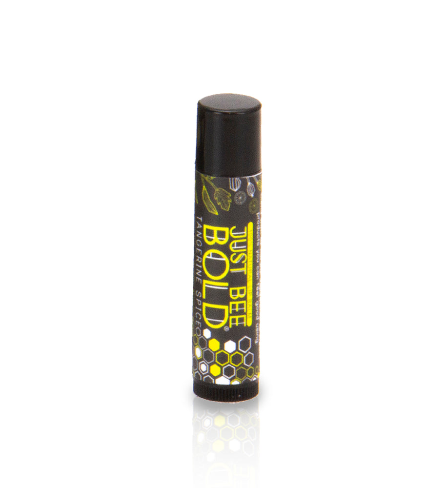 Just Bee Bold Tangerine Spice - 100% Natural Lip Balm