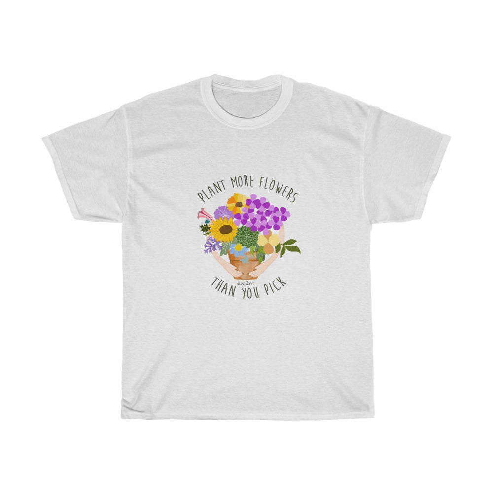 Plant more Flowers  -  100% Cotton Shirt