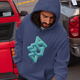 Abstract Optical Illusion Hoodie For Men & Women Clothing Turtle Dojo