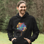 Abstract Tree Hoodie For Men & Women Clothing Turtle Dojo