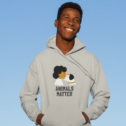 Animals Matter Hoodie For Men & Women Clothing Turtle Dojo