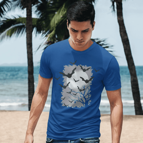 Bats T-shirt For Men Clothing Turtle Dojo