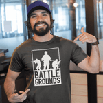 Battlegrounds Army T-shirt For Men Clothing Turtle Dojo