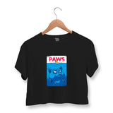 Paws Crop Top For Women