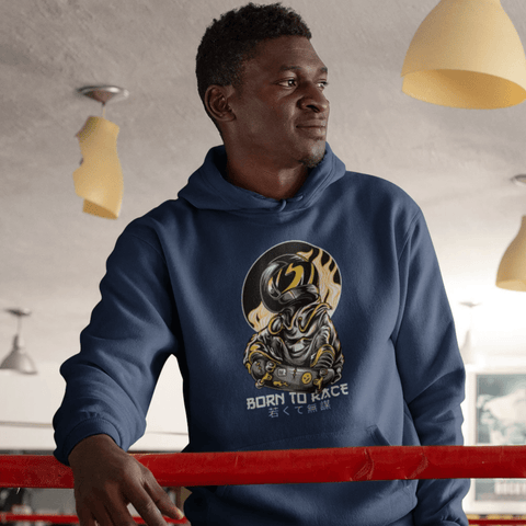 Born To Race Hoodie For Men & Women Clothing Turtle Dojo